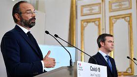 Le Premier ministre français, Edouard Philippe, et le ministre de la Santé, Olivier Véran, le 7 mai 2020.