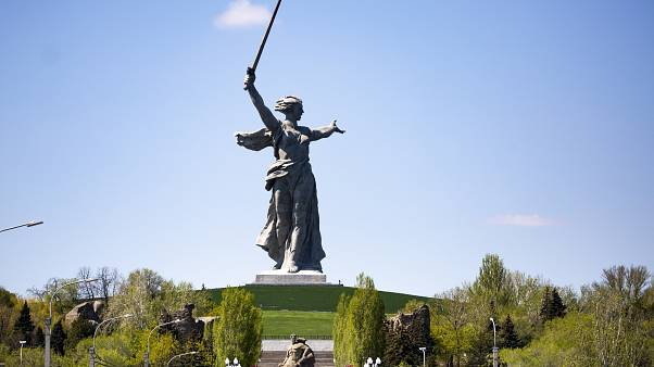 Virus Outbreak Russia War Memorials