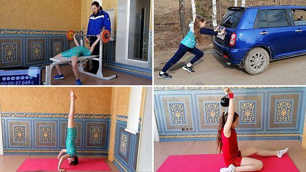 11-летняя россиянка за время карантина установила 20 спортивных рекордов