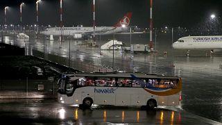Arjantin'den İstanbul'a düzenlenen seferde Türk ve Ukrayna vatandaşları Türkiye'ye getirildi