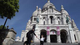 Coronavirus: Frankreich als rote und grüne Zone