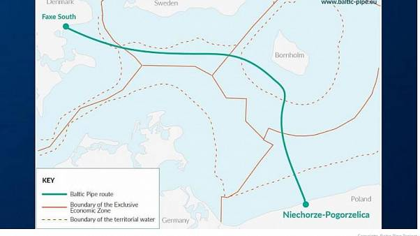Società italiana vince progetto per costruire un gasdotto nel nord Europa