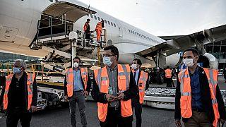 Europa envia voo humanitário para combater a Covid-19 em África