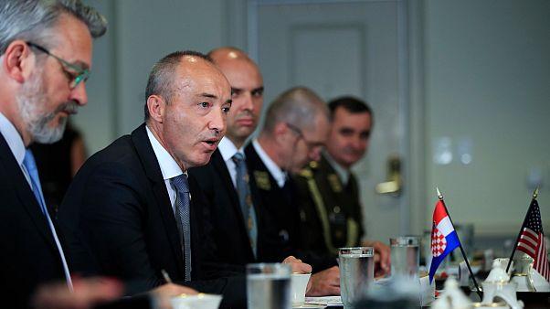 Hırvatistan Savunma Bakanı Damir Krstičević