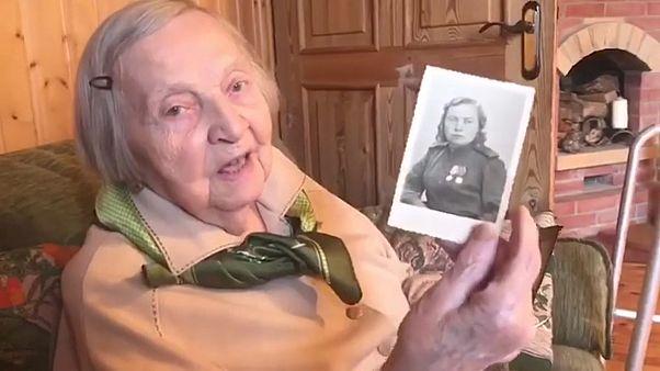 Una veterana del ejército Rojo contra el coronavirus