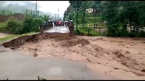Kelet-Afrika: árvizek, földcsuszamlások