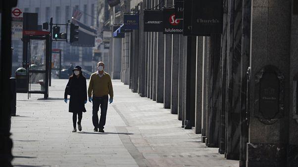 Virus Outbreak Britain Economy