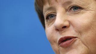 German Chancellor and chairwoman of the German Christian Democrats, CDU, Angela Merkel