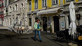 Restaurantes fechados na baixa de Lisboa devido às medidas anti-Covid-19
