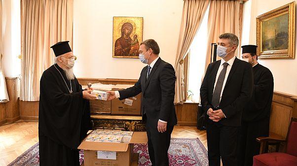 Δέκα χιλιάδες μάσκες από την κυβέρνηση της Ουγγαρίας στο Οικουμενικό Πατριαρχείο