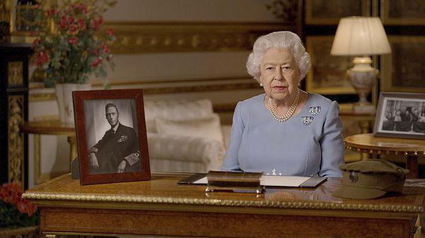La reina Isabel II de Inglaterra