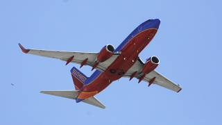 Southwest Airlines'a ait bir uçak