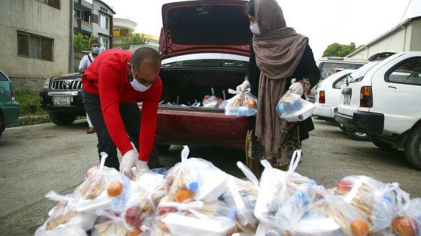 Ramazanda gıda yardımı Afganistan