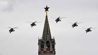 Russia holds Victory Day air parade