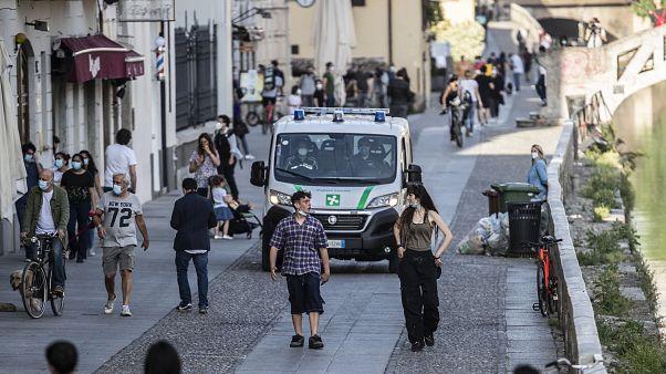 Koronavírus – Olaszország, Koronavírus – Olaszország, Virus Outbreak Italy Reopening