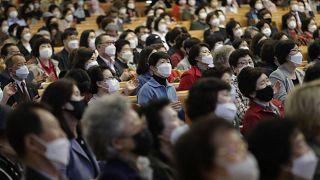 APTOPIX Virus Outbreak South Korea