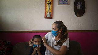 Virus Outbreak Venezuela Migrants