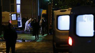 Rusya'nın başkenti Moskova'da, Covid-19 hastalarının tedavi gördüğü hastanede çıkan yangında bir kişi hayatını kaybetti