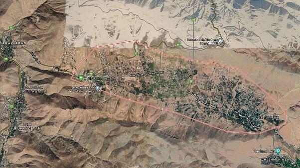 محدوده مشا در استان تهران که گسل مشا نیز در این مکان واقع شده است