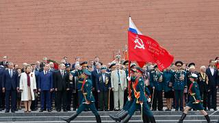 Virus Outbreak Russia WWII Victory Day