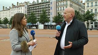 French MP Bruno Bonnell speaking to Euronews' Rosie Wright