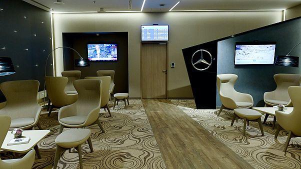 VIP-váró a budapesti Liszt Ferenc Nemzetközi Repülőtéren