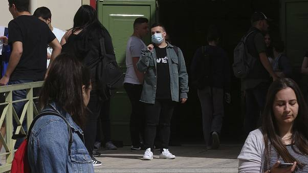 Virus Outbreak Greece
