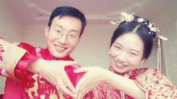 برگزاری مراسم عروسی آنلاین با صد هزار مهمان غریبه در دوران قرنطینه