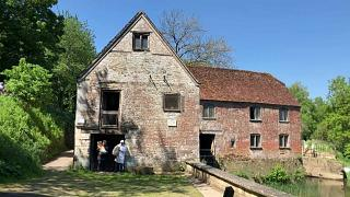 Coronavirus: 1,000-year-old mill brought back to life after lockdown baking sparks flour shortages