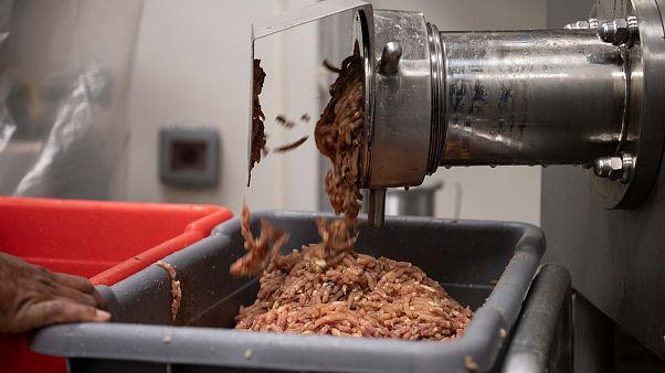 A húsipari kölcsönzött munkások között terjed a vírus Németországban