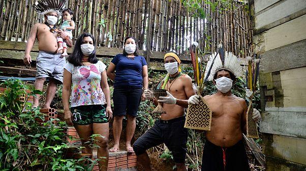 Brezilya'nın en büyük eyaleti olan Amazonas'ın başkenti Manaus'ta yaşayan yerli topluluk
