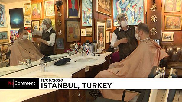 Reabren las peluquerías en Turquía