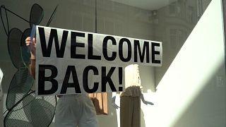 بازگشایی مغازهها در بروکسل پس از دو ماه تعطیلی