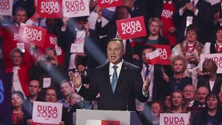 الرئيس البولندي أندريي دودا