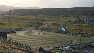 Football restarts in Europe as Faroe Islands kick off season