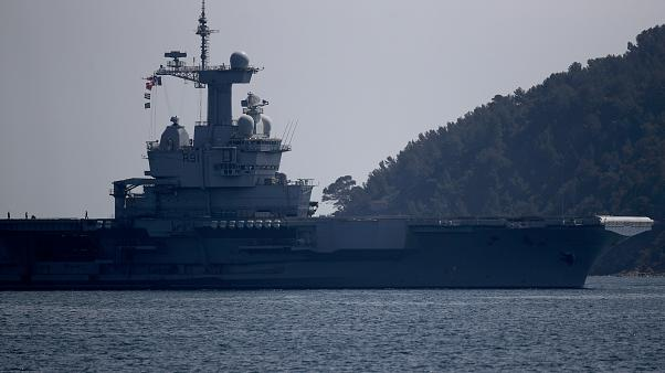 The French aircraft carrier Charles de Gaulle