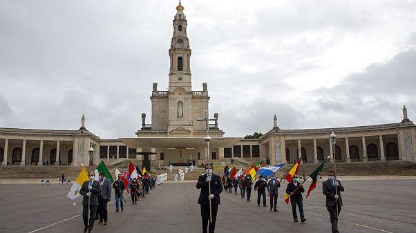 Cerimónias do 13 de maio de 2020, no Santuário de Fátima