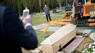 Belçika'da bir mezarlık