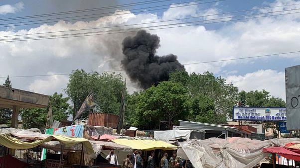 داعش مسئولیت حمله انتحاری به مراسم تشییع در افغانستان را بر عهده گرفت