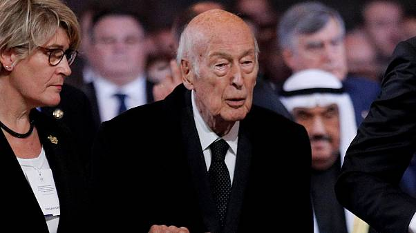 Eski Fransa Cumhurbaşkanı Valery Giscard d'Estaing