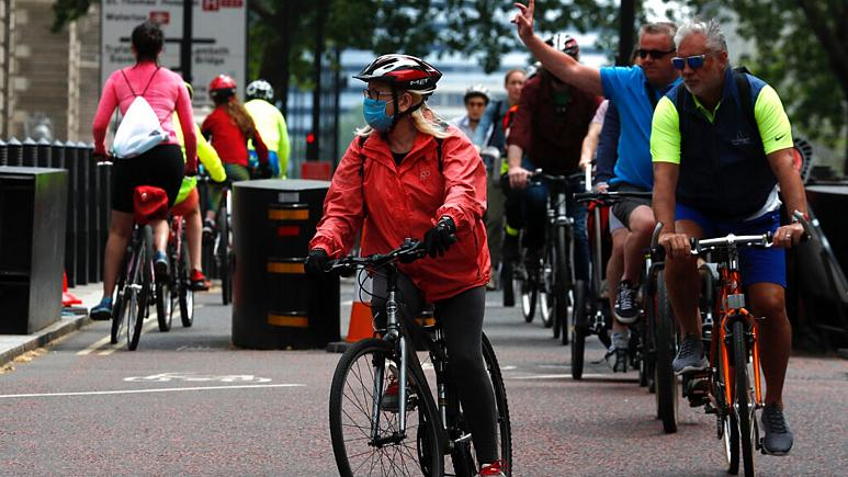 Chain reaction: commuters and cities embrace cycling in COVID-19 era