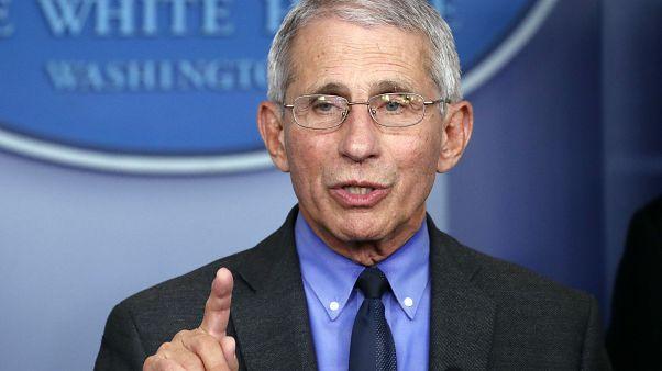 مدير المعهد الوطي للوقاية من أمراض الحساسية والأمراض المعدية في الولايات المتحدة أنتوني فاوتشي