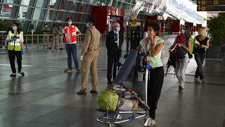 الرعايا الفرنسيون العالقون في مطار أنديرا غاندي في الهند