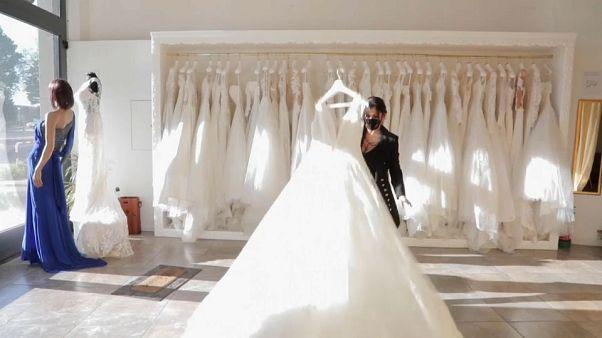 Coronavirus: Dress shops and florists left at the altar as COVID-19 hits weddings