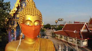 Maske auch für den Buddha
