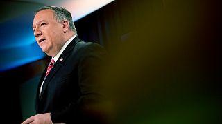 """رغم كورونا .. وزير الخارجية الأميركي يصل إلى إسرائيل لمناقشة خطوة """"الضم"""" الإسرائيلية"""