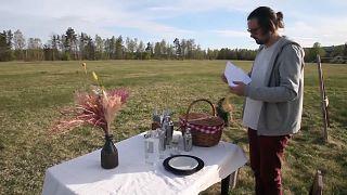 İsveç'te tek kişilik restoran