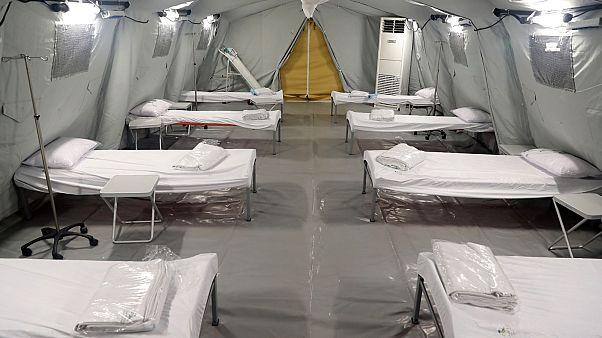السعودية نيوز |      شاهد: السعودية تفتتح أكبر مستشفى ميداني في مكة لاستقبال المصابين بفيروس كورونا