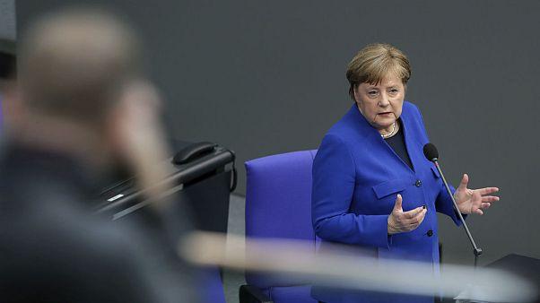 انتقاد صدراعظم آلمان از عملیات جاسوسی «هکرهای روسی»؛ مرکل: مدرک کافی دارم