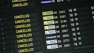 Virus Outbreak Europe Brussels Airlines